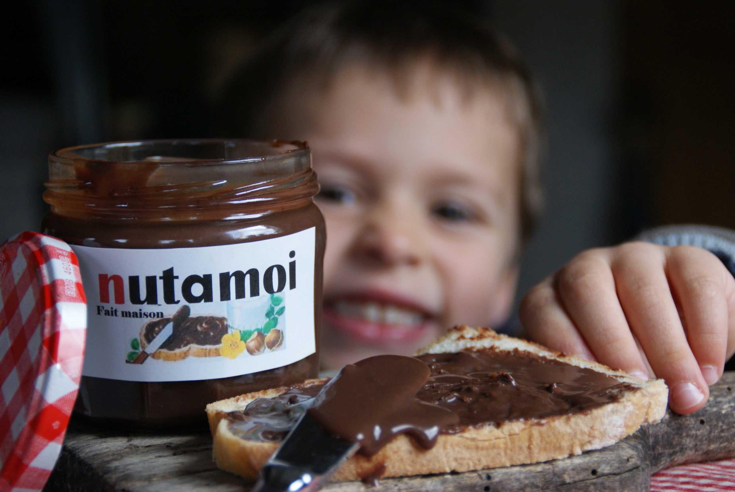 """Ma pâte à tartiner façon """"Nut"""""""